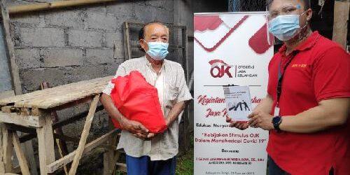 """""""Door to Door"""" Penyuluhan Jasa Keuangan DPN Peradah-OJK-ARW Sasar Warga di Kabupaten Bangli"""