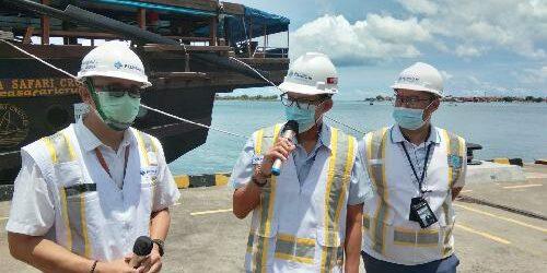 "Kunjungi Pengembangan Pelabuhan Benoa, Menparekraf Sandi Uno Minta ""On The Track dan On Time"""