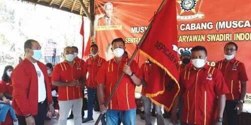 Maju Terus Pantang Mundur! Panji-Panji SOKSI Berkibar di Kabupaten Tabanan