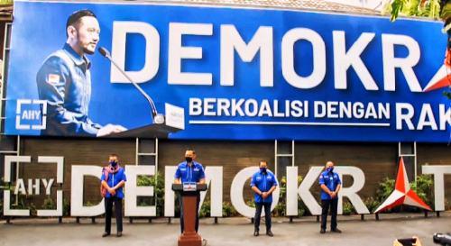 Survei Indometer: Elektabilitas PDIP Turun, Partai Demokrat Melejit
