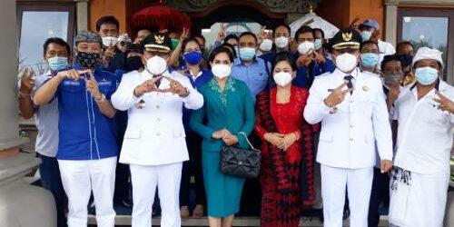 """Tamba-Ipat Temui Pengurus Demokrat Bali, Made Mudarta: """"Segeralah bekerja membawa Jembrana kembali jaya"""""""