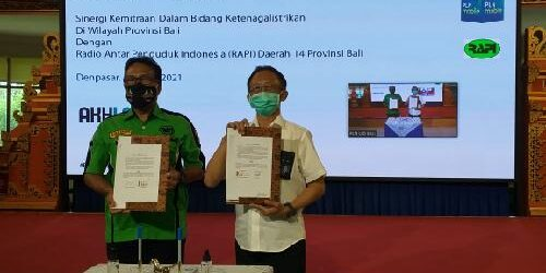 """PLN UID Bali dan RAPI Teken MoU, Jadi """"Penyambung Lidah"""" Edukasi Layanan Ketenagalistrikan ke Masyarakat"""