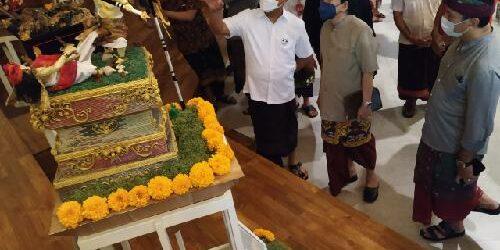 Kreasi Tanpa Batas! ITB STIKOM Bali Gelar Pameran dan Lomba Ogoh-Ogoh Mini