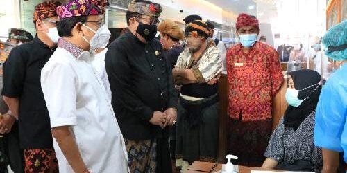 2.000 Vaksin Bagi Industri Jasa Keuangan di Bali