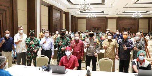 Target 3 Juta Penduduk Bali Divaksin, Herd Immunity Tercapai Pariwisata Internasional Siap Dibuka