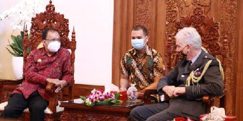 November 2021, Bali Jadi Tuan Rumah Aerobatik Pesawat Tempur Kerajaan Inggris