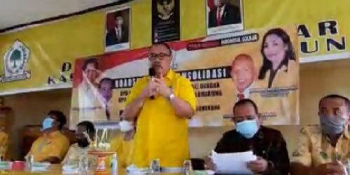 "Konsolidasi Golkar Klungkung, Golkar Bali: ""Kader jangan cepat puas diri"""