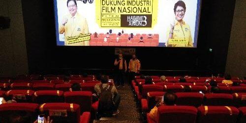 Dukung Industri Film Nasional, Golkar Bali Nonton Bareng Film Habibie&Ainun 3