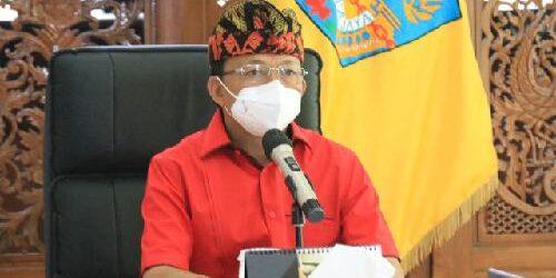 """Pemprov Bali Kebut Vaksinasi Covid-19, Gubernur Koster: """"Target vaksin 70% penduduk Bali"""""""