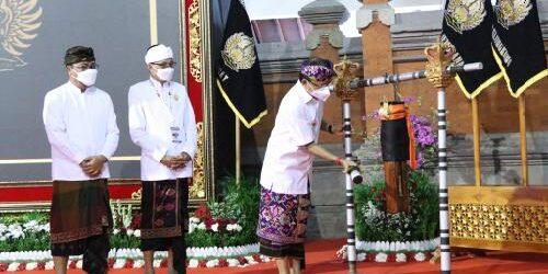 """Di Mahasabha II Maha Gotra Tirta Harum, Gubernur Koster: """"Pasemetonan perkuat soliditas sesama krama Bali"""""""