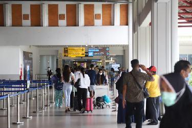 Libur Paskah, Bandara Internasional Ngurah Rai Padat Aktivitas