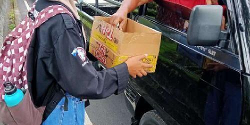 Gabungan Mahasiswa Bali Buka Dompet Donasi Bantu Korban Bencana Alam di NTT