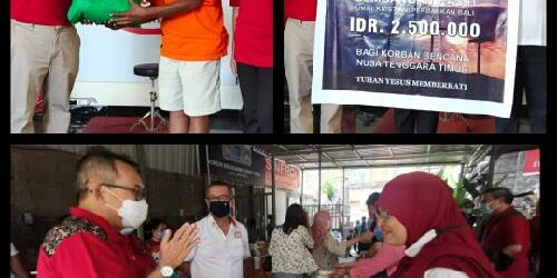 Bazar Peduli BMPD Bali Bantu UMKM dan Salurkan Bantuan Kemanusiaan di NTT