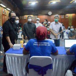 Vaksinasi Gencar Dilakukan, Bali Jadi Provinsi dengan Capaian Tertinggi Program Vaksinasi Covid-19