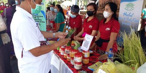 Pasar Tradisional di Tabanan Resmi Berbasis Digital, 9.349 Merchant Sudah Ber-QRIS