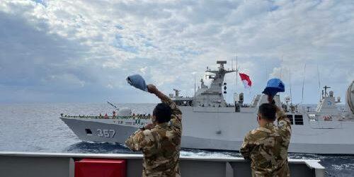 KRI Sultan Iskandar Muda Siap Gantikan KRI Sultan Hasanuddin Emban Misi MTF UNIFIL