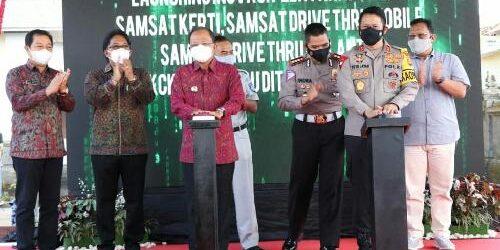 Apresiasi 4 Inovasi Pelayanan Publik Polda Bali, Gubernur Koster Sebut Dongkrak PAD Ditengah Pandemi Covid-19