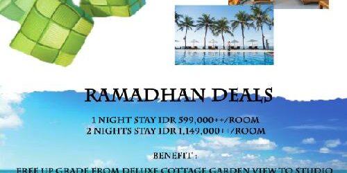 """""""Ramadhan Deals"""" di Ramayana Candidasa Hotel, Sudah Bersertifikat CHSE Siap Terima Wisatawan Menginap"""
