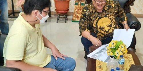 "Putra Ketum Golkar Kagumi ""Yellow Clinic""Golkar Bali"