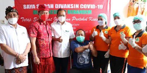 Komunikasi Intens Gubernur Koster dengan Menkes RI, Bali kembali Dapat Tambahan Dosis Vaksin Covid-19 di Bulan Mei