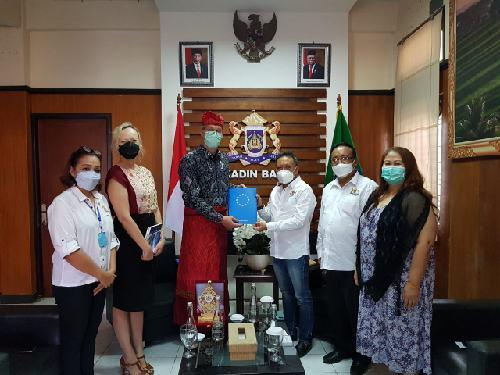 Terima Kunjungan Dubes Uni Eropa, Kadin Bali Pererat Kerjasama Perdagangan Indonesia-UE
