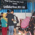 Simpatisan JRX Buka Puasa Bersama Kaum Duafa, Momentum Pererat Silahturahmi Antar Umat Beragama