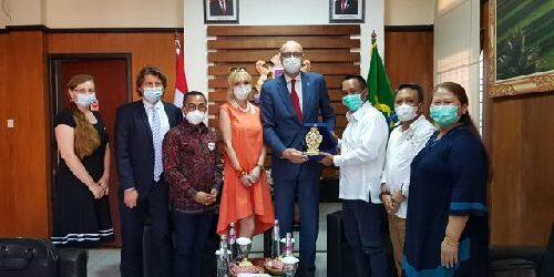 Duta Besar Republik Checz Temui Kadin Bali, Jajaki Kerjasama Bidang Kesehatan, Pendidikan, dan Teknologi
