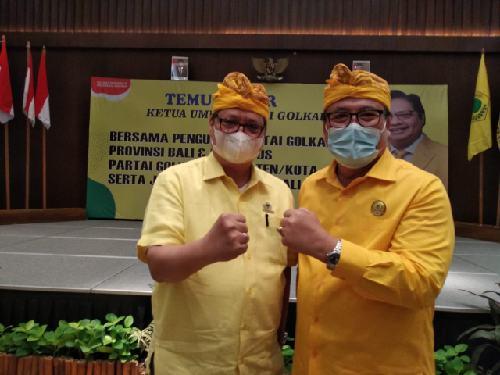 Konsisten Laksanakan Doktrin Partai Golkar, Ketum Airlangga Hartarto Puji Kinerja Golkar Bali