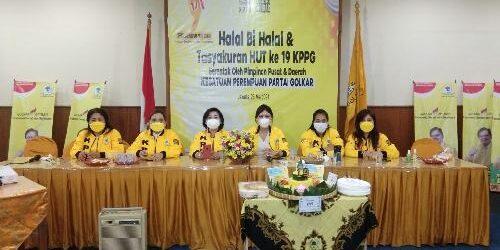 """HUT ke-19, KPPG Bali Serahkan Paket Sembako, Ketua KPPG: """"Kader perempuan Golkar harus jadi jantung penggerak aktivitas politik"""""""