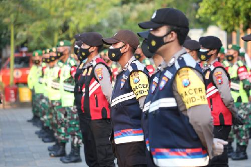 """Pimpin Apel Satgas Penanganan Covid-19 di Lamongan, Panglima TNI: """"Putus mata rantai penyebaran Covid-19"""""""