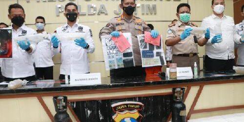 Hendak Diselundupkan ke Jakarta, 30 Ribu Lebih Benih Lobster Diamankan Polda Jatim