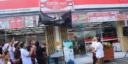"""Dua Jempol untuk Desa Adat Guwang! Jadi yang Pertama di Bali Buka Toko Ritel """"Tenten Mart Desa Adat"""""""