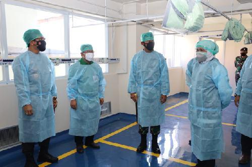 """Zona Parkir RS Soetomo Berubah Jadi Ruang ICU dan HCU """"Darurat"""", Kapasitas 200 Tempat Tidur"""