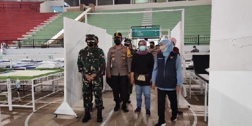 RS Darurat Indoor GBT Kapasitas 225 Tempat Tidur, Siap Tampung Pasien Covid-19 Gejala Ringan-Sedang