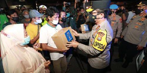 Pimpin Operasi Yustisi Aman Nusa II, Kapolda Jatim Ajak Masyarakat Patuhi Prokes 5 M