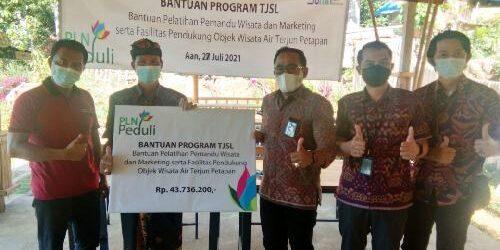 Program TJSL PLN Peduli, Bantu Pemberdayaan Ekonomi Masyarakat di Petapan Park Klungkung