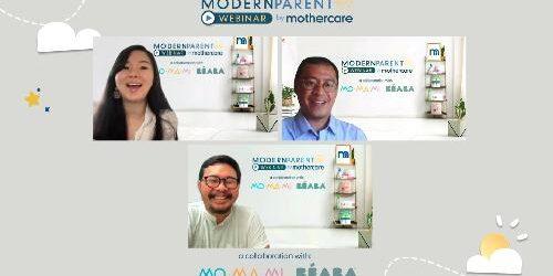 """Rayakan Hari Ayah Sedunia, Mothercare Indonesia, Momami dan Beaba Indonesia Gelar Webinar Modern Parent """"Ayah Hebat Harus Terlibat"""""""
