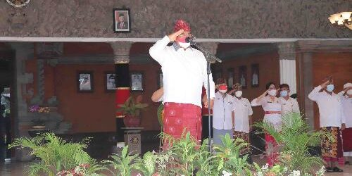 """Peringati HUT ke-76 Kemerdekaan RI, Bupati Buleleng: """"Semangat kemerdekaan lalui pandemi Covid-19"""""""