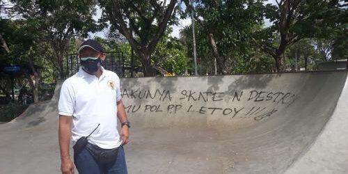 Aksi Vandalisme di Extreme Park Lumintang