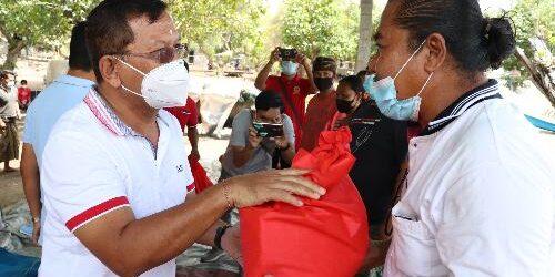 Berlanjut, Bantuan Paket Sembako Pemkab Buleleng Bagi 4 Kelompok Nelayan