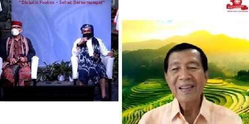 """""""Dimana Tanah Dipijak Disitu Langit Dijunjung"""", Warga Flobamora Guyub Bersatu Membangun Bali"""