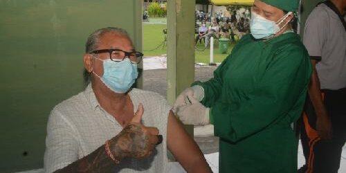 "Kodam Udayana ""Jemput Bola"", Sisir Rumah Lansia Suntikkan Vaksin Covid-19"