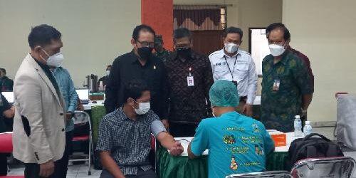 """Gandeng Banyak Pihak, Korem 163/Wira Satya Gelar """"Vaksinasi Bali Sehat"""" Sasar 2.000 Orang"""