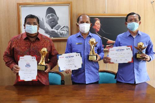 Hattrick! Perumda Tirta Hita Buleleng Sabet Tiga Award Bergensi