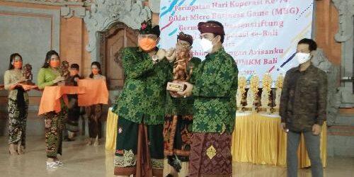 "BPR Kanti Luncurkan Tabungan ""Arisanku"" bersama Gema KUMKM Bali, Berdayakan Koperasi Sebagai Soko Guru"