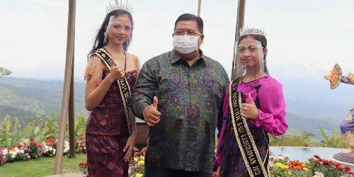 Sebelum Bertolak ke Jakarta, Dua Finalis Putri Remaja dan Putri Cilik Tingkat Nasional Asal Buleleng Pamitan ke Bupati