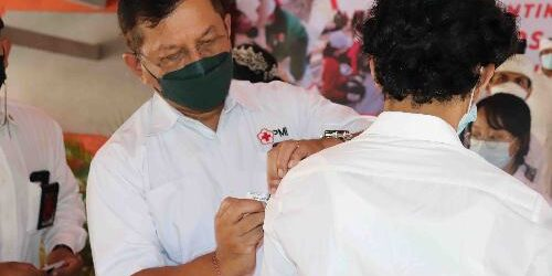 Pelantikan 46 Anggota KSR PMI Buleleng, Siap Jadi Relawan Tangguh Sigap Tanggap Darurat