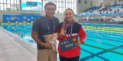Diluar Dugaan, Atlet Selam Asal Buleleng Sabet Medali Perunggu di PON XX