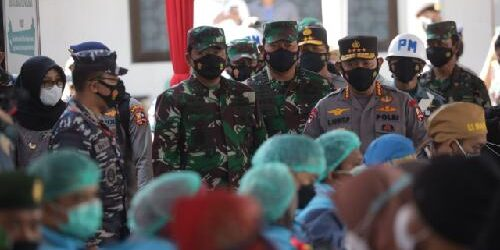 15.000 Dosis Vaksin Disebar di Serbuan Vaksinasi Covid-19 Bagi Warga Kabupaten Banyuwangi