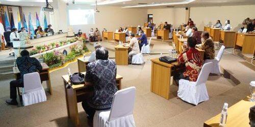 Hadiri Rapat FP2TB, Rektor Unud: Kolaborasi Perguruan Tinggi Lahirkan SDM Unggul